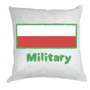 Pillow Military and the flag of Poland