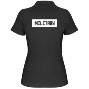 Damska koszulka polo Military