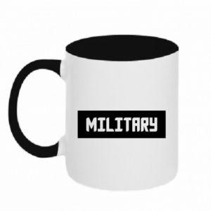 Kubek dwukolorowy Military