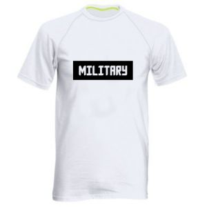 Męska koszulka sportowa Military
