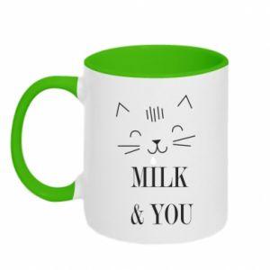 Kubek dwukolorowy Milk and you