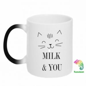 Kubek-kameleon Milk and you