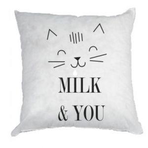Poduszka Milk and you