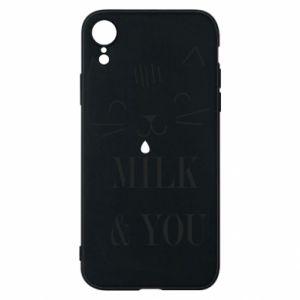 Etui na iPhone XR Milk and you