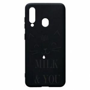 Etui na Samsung A60 Milk and you