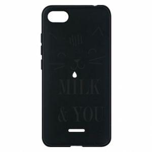 Etui na Xiaomi Redmi 6A Milk and you