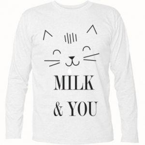 Koszulka z długim rękawem Milk and you