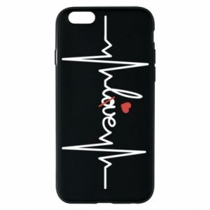 Etui na iPhone 6/6S Miłość i serce - PrintSalon