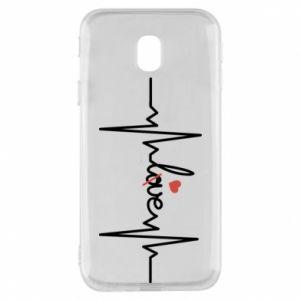 Etui na Samsung J3 2017 Miłość i serce