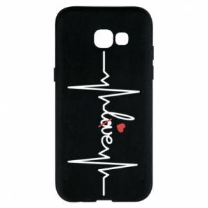 Etui na Samsung A5 2017 Miłość i serce