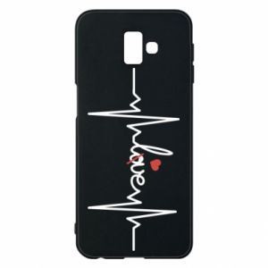 Samsung J6 Plus 2018 Case Love and heart
