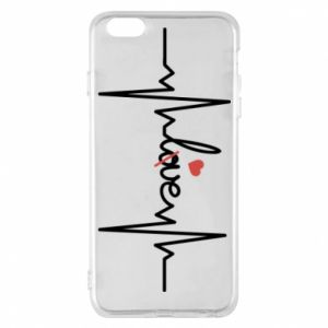 Etui na iPhone 6 Plus/6S Plus Miłość i serce - PrintSalon