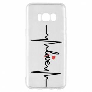 Etui na Samsung S8 Miłość i serce - PrintSalon