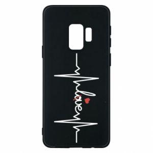 Etui na Samsung S9 Miłość i serce