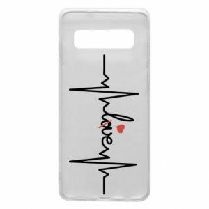 Etui na Samsung S10 Miłość i serce