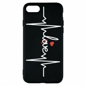 Etui na iPhone 7 Miłość i serce - PrintSalon
