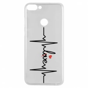 Etui na Huawei P Smart Miłość i serce - PrintSalon