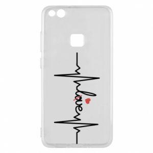 Etui na Huawei P10 Lite Miłość i serce - PrintSalon