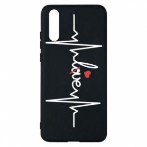 Etui na Huawei P20 Miłość i serce
