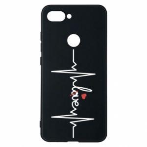 Etui na Xiaomi Mi8 Lite Miłość i serce