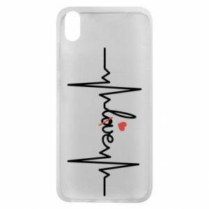 Etui na Xiaomi Redmi 7A Miłość i serce