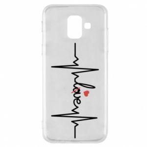 Etui na Samsung A6 2018 Miłość i serce
