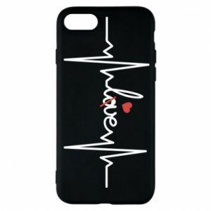 Etui na iPhone 8 Miłość i serce - PrintSalon