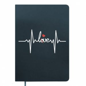 Notepad Love and heart