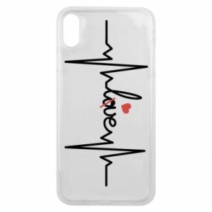 Etui na iPhone Xs Max Miłość i serce - PrintSalon