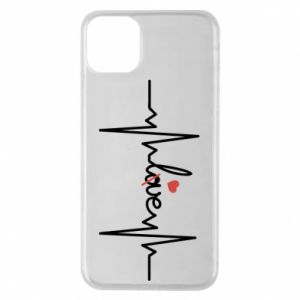 iPhone 11 Pro Max Case Love and heart