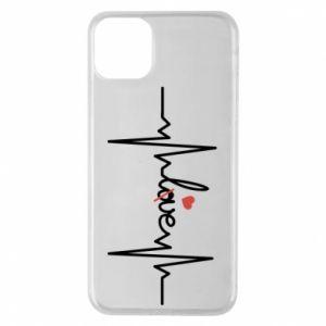 Etui na iPhone 11 Pro Max Miłość i serce