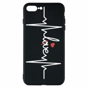 Etui na iPhone 8 Plus Miłość i serce - PrintSalon