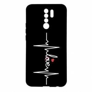 Etui na Xiaomi Redmi 9 Miłość i serce