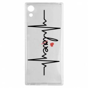 Etui na Sony Xperia XA1 Miłość i serce