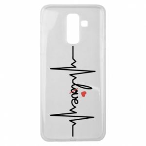 Samsung J8 2018 Case Love and heart