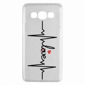 Samsung A3 2015 Case Love and heart