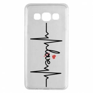 Etui na Samsung A3 2015 Miłość i serce
