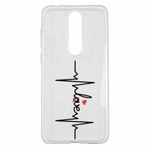 Etui na Nokia 5.1 Plus Miłość i serce