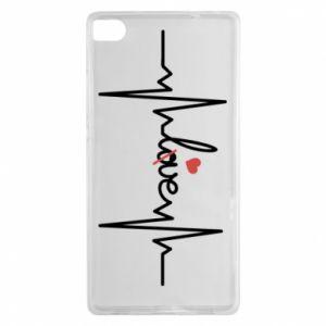 Etui na Huawei P8 Miłość i serce