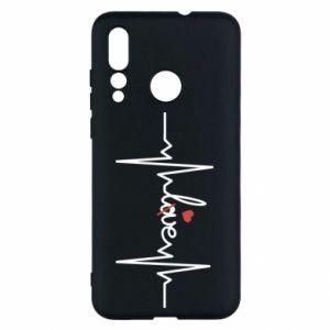 Etui na Huawei Nova 4 Miłość i serce
