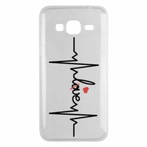 Etui na Samsung J3 2016 Miłość i serce