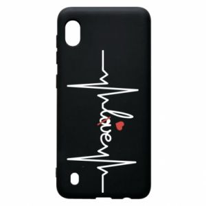 Etui na Samsung A10 Miłość i serce