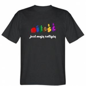 Koszulka Miłość jest moją religią