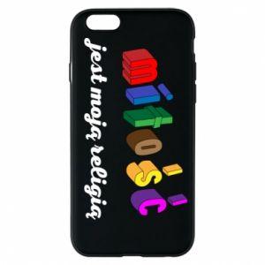 Etui na iPhone 6/6S Miłość jest moją religią