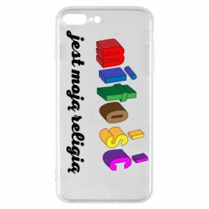 Etui na iPhone 7 Plus Miłość jest moją religią
