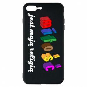 Etui na iPhone 8 Plus Miłość jest moją religią