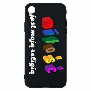 Etui na iPhone XR Miłość jest moją religią