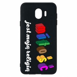 Etui na Samsung J4 Miłość jest moją religią