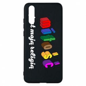 Etui na Huawei P20 Miłość jest moją religią