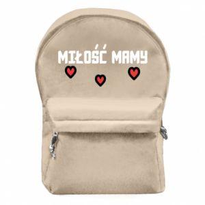 Plecak z przednią kieszenią Miłość mamy